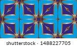 decorative seamless pattern.... | Shutterstock . vector #1488227705