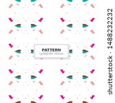 seamless background with...   Shutterstock .eps vector #1488232232