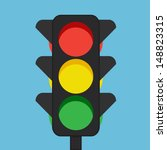 traffic lights  | Shutterstock .eps vector #148823315