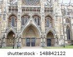 Westminster Abbey Facade ...