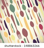 menu skin over  beige... | Shutterstock .eps vector #148863266