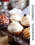 close up of some decadent... | Shutterstock . vector #148863542