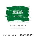 flag of saudi arabia. vector... | Shutterstock .eps vector #1488659255