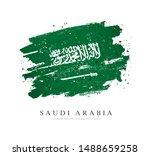 flag of saudi arabia. vector... | Shutterstock .eps vector #1488659258