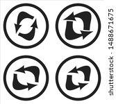 vector flat arrows icon for web ...