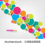 vector design simple circles... | Shutterstock .eps vector #148868888