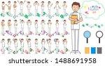 Male Nurse Pose Variation  50...