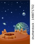 planets in space | Shutterstock .eps vector #148871702