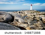 Peggy\'s Point Lighthouse In...