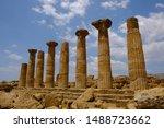 Agrigento  Akragas   Sicily....