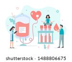 little people are engaged in... | Shutterstock .eps vector #1488806675