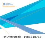 vector modern cover template.... | Shutterstock .eps vector #1488810788