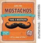 vintage mostachos  mustache...