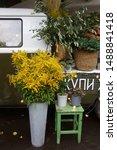 Huge Bouquet Of Wild Yellow...
