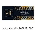 vip club party premium... | Shutterstock .eps vector #1488921005