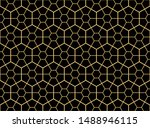 the geometric pattern with...   Shutterstock .eps vector #1488946115