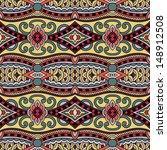 geometry vintage floral... | Shutterstock . vector #148912508