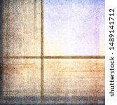 bright color grunge background... | Shutterstock . vector #1489141712