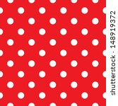 red polka dot seamless pattern... | Shutterstock .eps vector #148919372