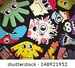 monsters | Shutterstock .eps vector #148921952