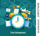 illustrations concept design of ... | Shutterstock .eps vector #1489274648