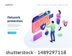 network protection landing page ...