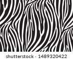 Abstract Zebra Seamless Patter...