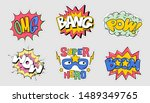 set collection bundle of... | Shutterstock .eps vector #1489349765