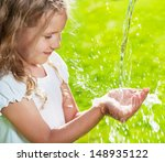 stream of clean water pouring... | Shutterstock . vector #148935122