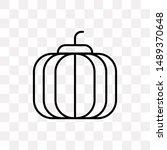 pumpkin icon isolated on...