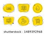 like video  infographic graph... | Shutterstock .eps vector #1489392968