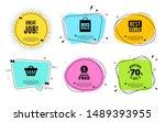 great job symbol. best seller ... | Shutterstock .eps vector #1489393955