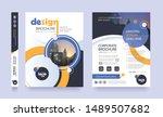 poster flyer pamphlet brochure...   Shutterstock .eps vector #1489507682