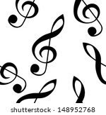 abstract music seamless pattern ... | Shutterstock .eps vector #148952768
