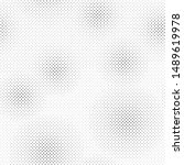 black and white dots  halftone... | Shutterstock .eps vector #1489619978