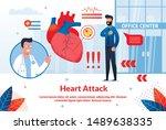 bright flyer inscription heart...   Shutterstock .eps vector #1489638335