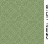 Soft Seamless Green Damask...