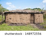 Mud Hut In The Masai Village I...