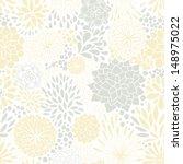 romantic seamless floral... | Shutterstock .eps vector #148975022