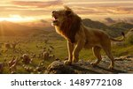 The Lion  Panthera Leo  Is A...