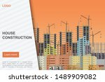house construction landing page ...