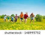 Group Of Seven Running In The...