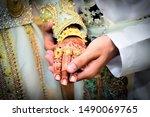 An Arabic Wedding Bride And...
