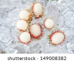 Fresh rambutan sweet delicious fruit of Thailand  - stock photo