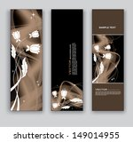 banners. abstract design. eps10. | Shutterstock .eps vector #149014955