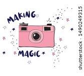 Photo Star Polka Magic Text...