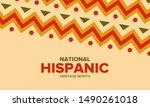 national hispanic heritage...   Shutterstock .eps vector #1490261018