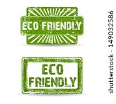 green rubber stamp with text... | Shutterstock .eps vector #149032586