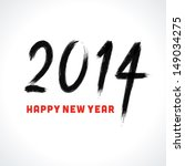 happy new year   2014... | Shutterstock .eps vector #149034275