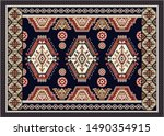 colorful ornamental vector... | Shutterstock .eps vector #1490354915